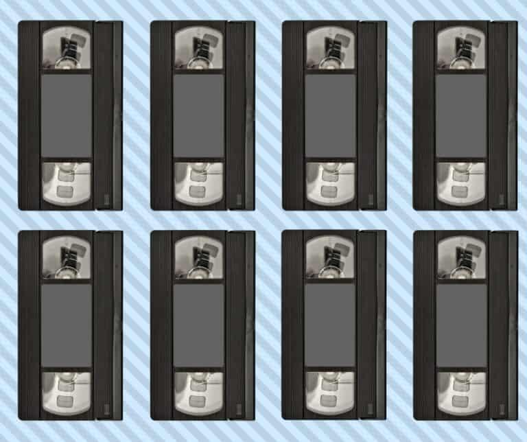 dove buttare videocassette